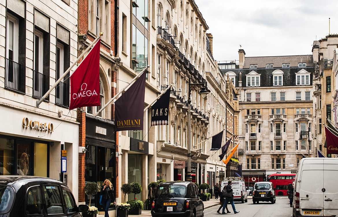 Best Shopping in London - Luxury Shopping at Bond Street