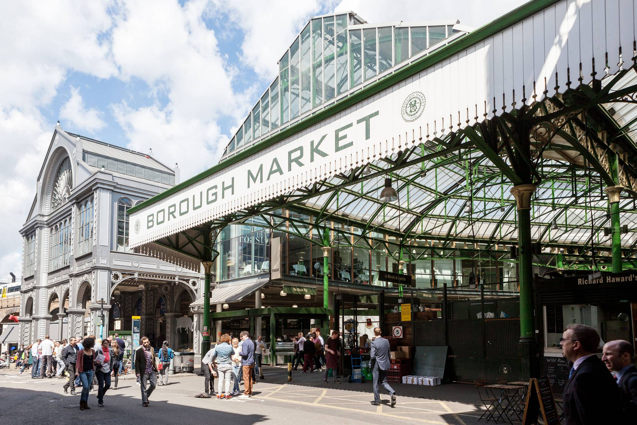 One day in London: The Borough Market