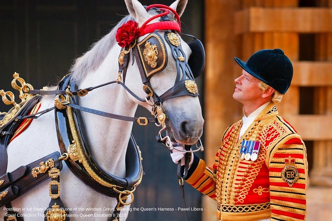 Royal Mews at Buckingham Palace & Changing the Guard